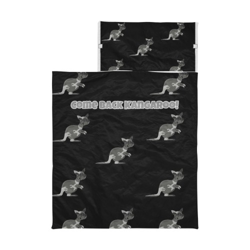 Black Come Back Kangaroo Sleeping bag Kids' Sleeping Bag