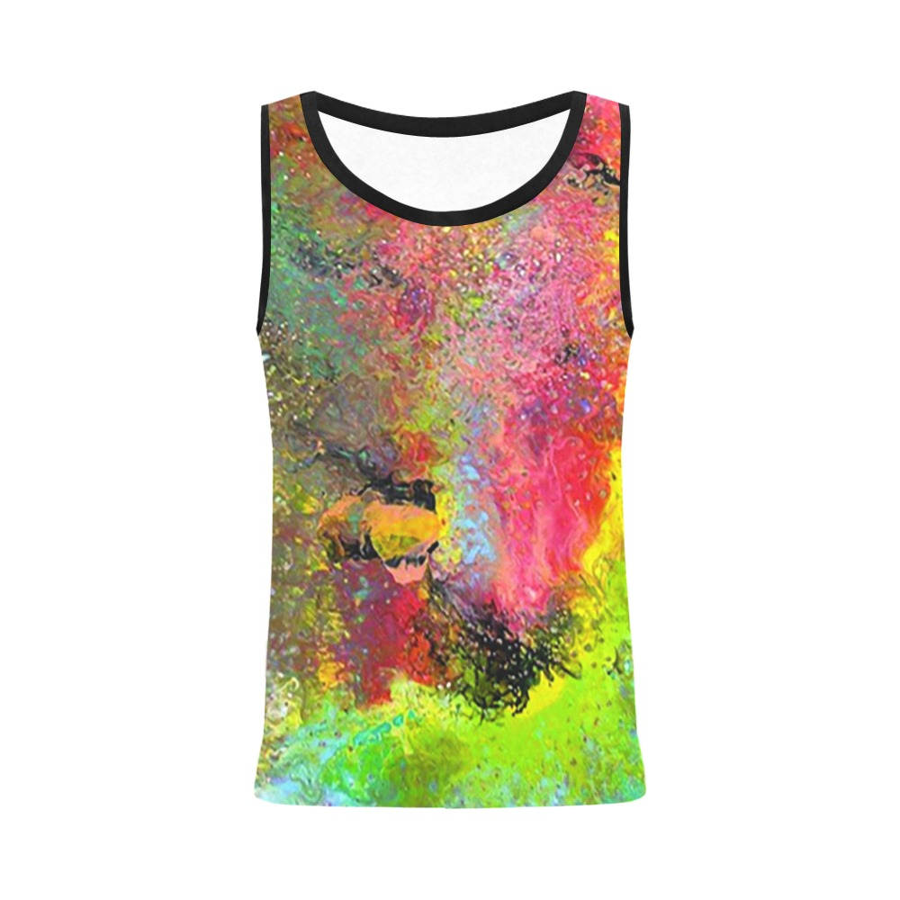 Bird of Paradise1 All Over Print Tank Top for Women (Model T43)