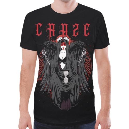 Critical Craze Angel Maker New All Over Print T-shirt for Men (Model T45)