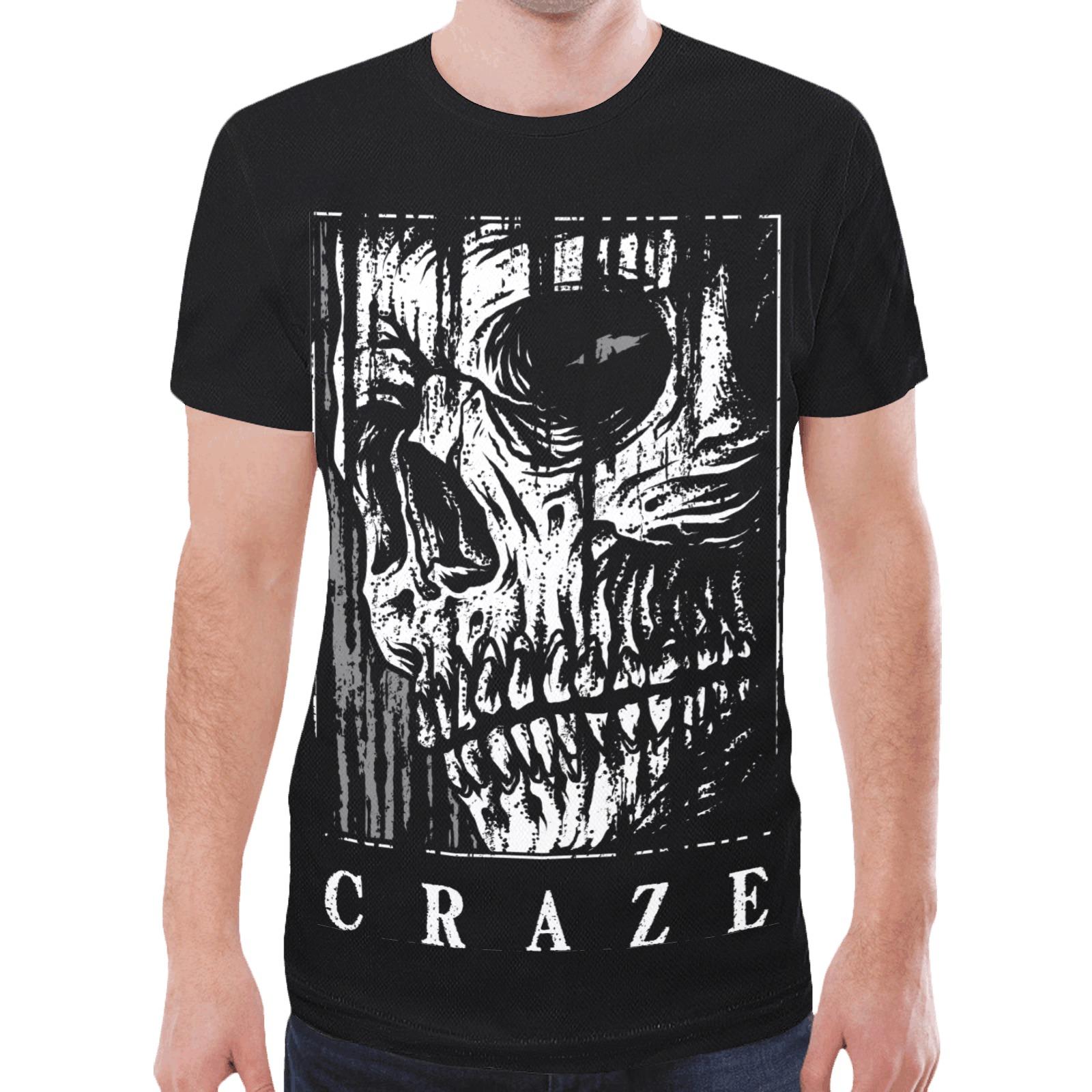 Critical Craze Watcher New All Over Print T-shirt for Men (Model T45)