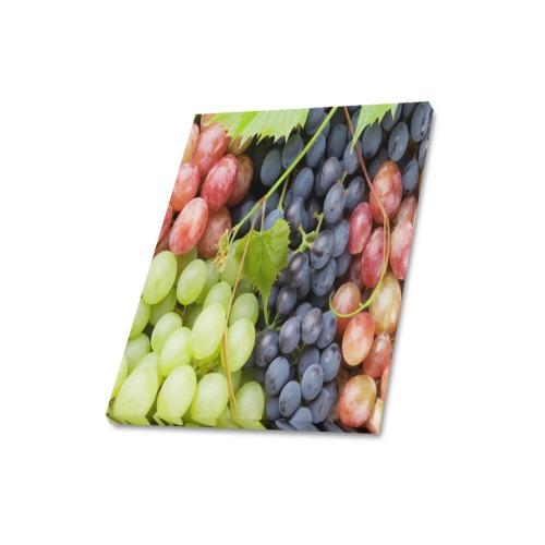 "Grapes 1 Frame Canvas Print 16""x20"""