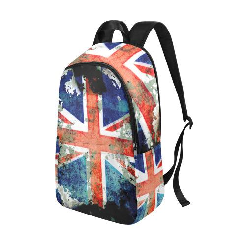 Extreme Grunge Union Jack Flag Fabric Backpack for Adult (Model 1659)