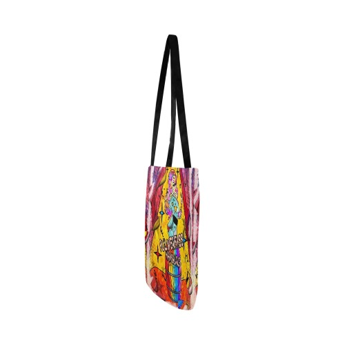Pulverfass Hamburg by Nico Bielow Reusable Shopping Bag Model 1660 (Two sides)