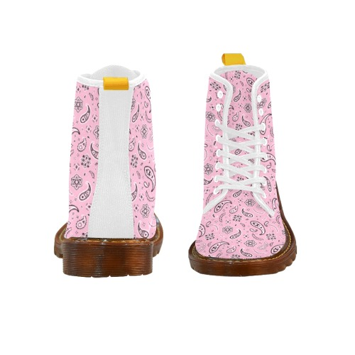 Pink Like a Man Martin Boots For Women Model 1203H