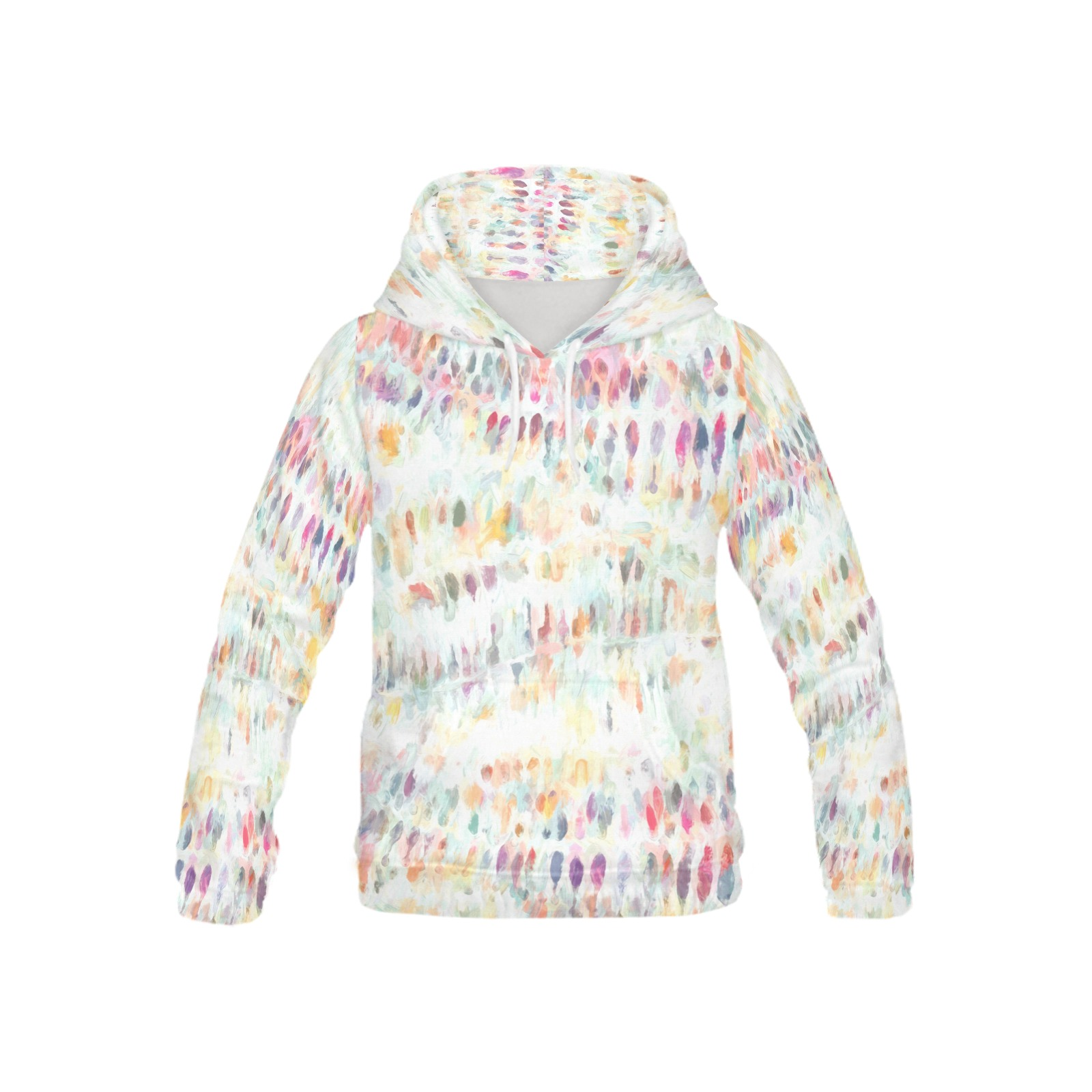 Watercolor, pastel color, All Over Print Hoodie for Kid (USA Size) (Model H13)