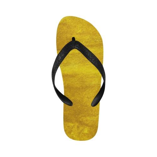 Gold Feet Flip Flops for Men/Women (Model 040)