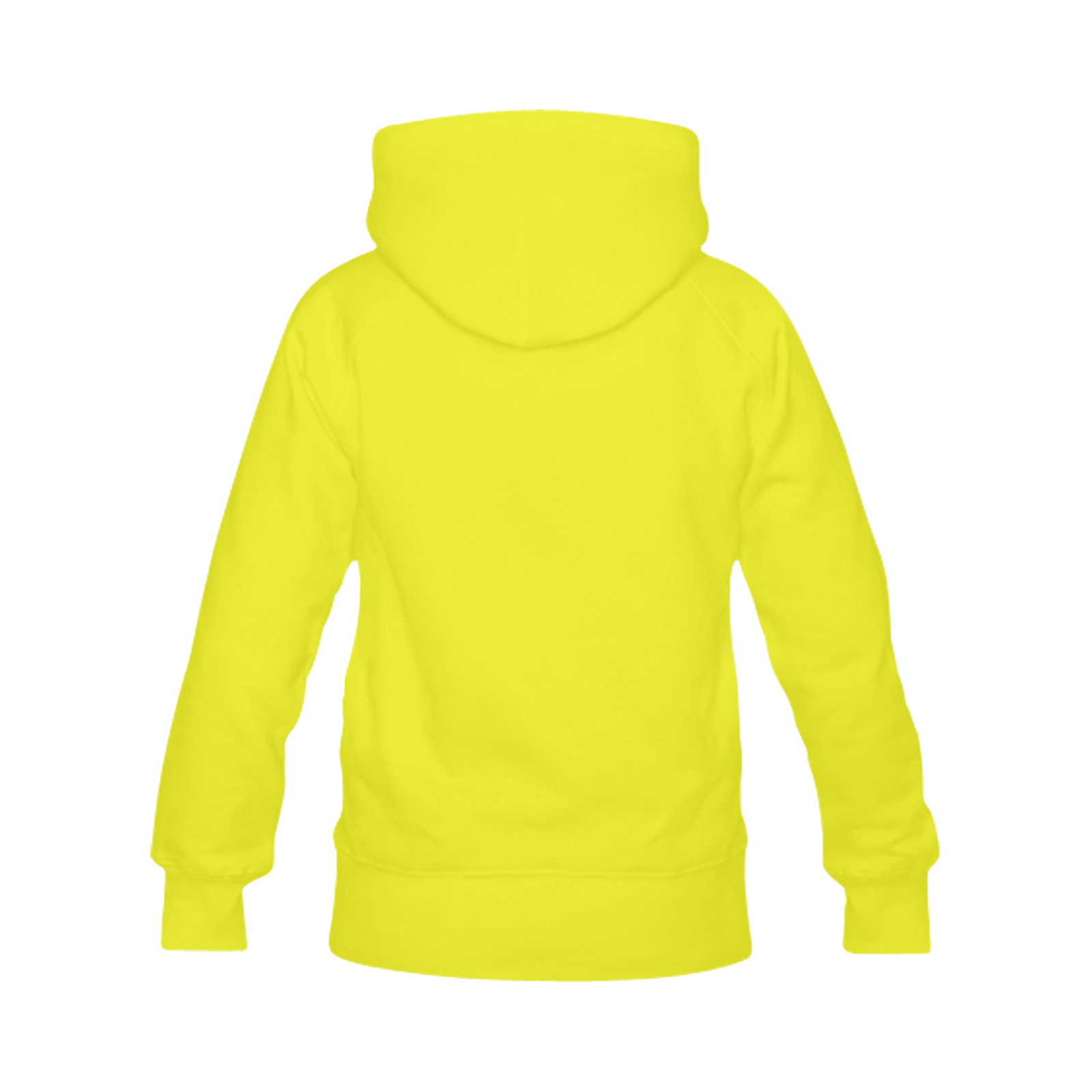 Don't Worry Be Happy Cartoon Face Men's Classic Hoodies (Model H10)