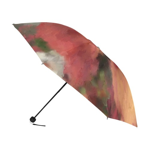 Autumn Watercolor Abstract Anti-UV Foldable Umbrella (U08)