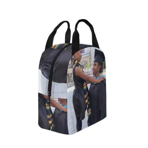 mom&daughter Zipper Lunch Bag (Model 1720)