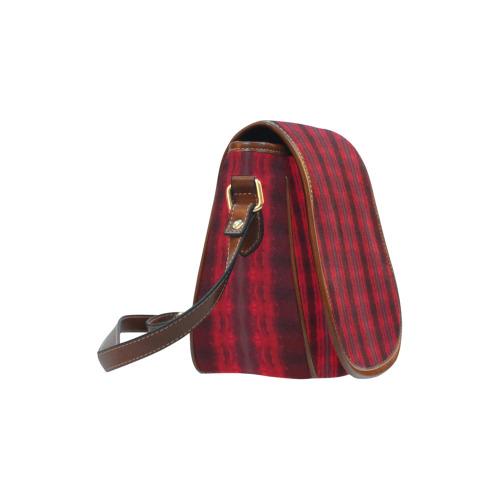 Rubied Bricks Saddle Bag/Large (Model 1649)