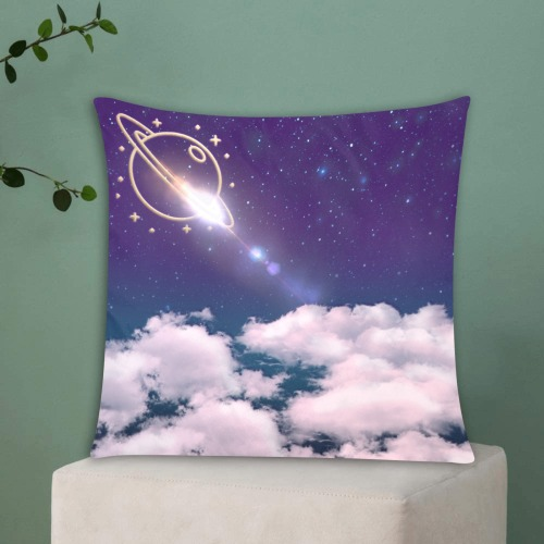 """Galaxy trend Custom Zippered Pillow Cases 18""""x18"""" (Two Sides)"""
