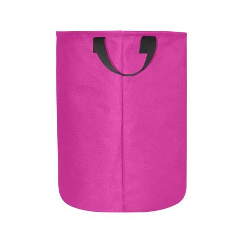 color medium violet red Laundry Bag (Large)