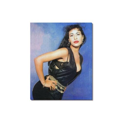 "Selena 10 Frame Canvas Print 16""x20"""
