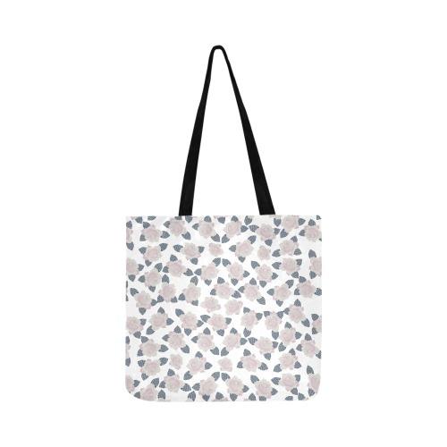 Spring Polka Dot Flowers Reusable Shopping Bag Model 1660 (Two sides)