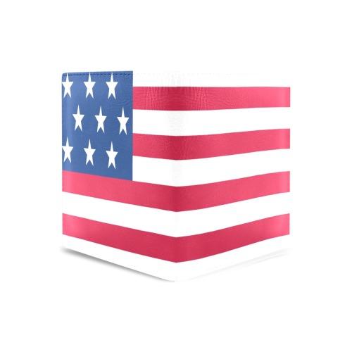 U.S. FLAG WALLET Men's Leather Wallet (Model 1612)