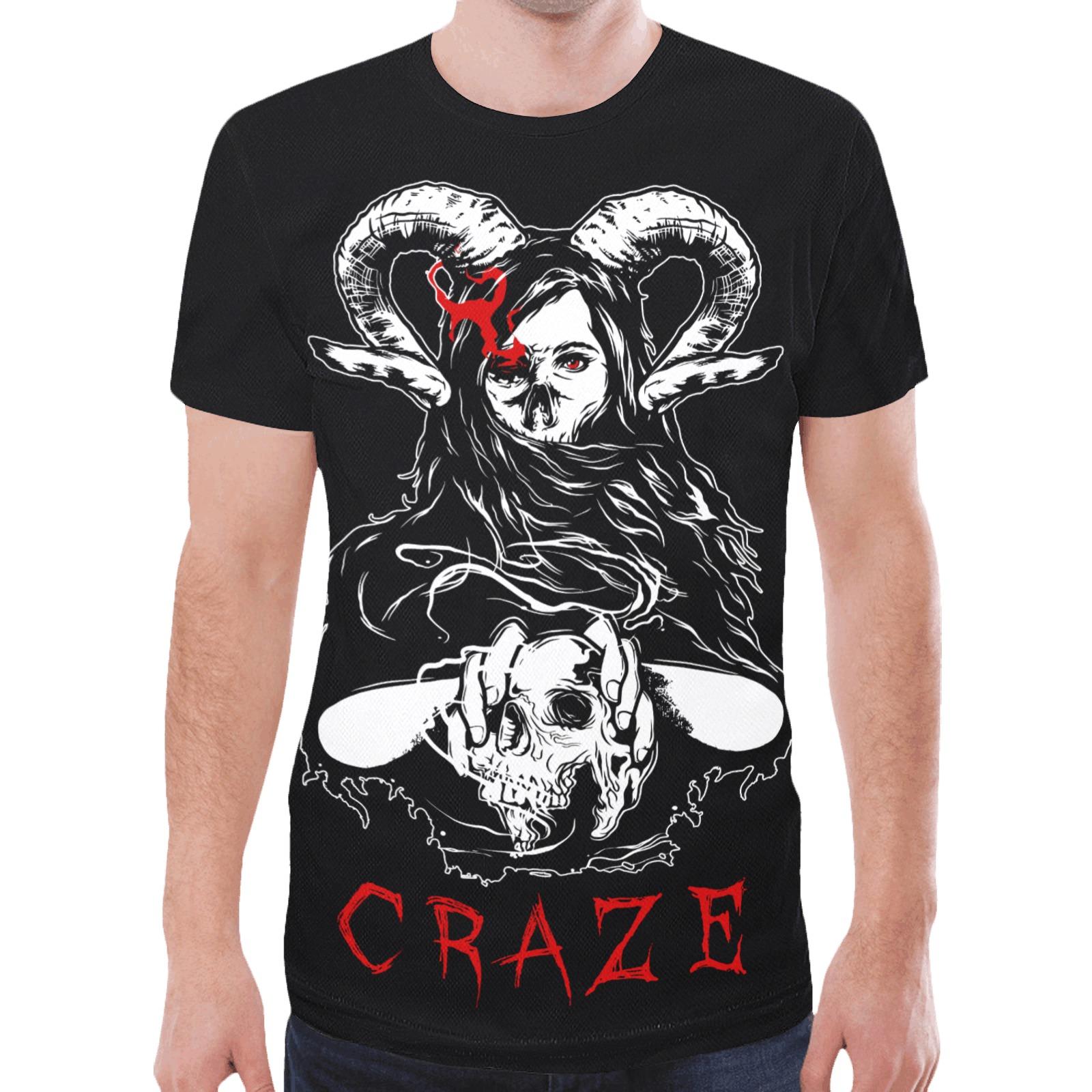 Critical Craze Fortune Teller New All Over Print T-shirt for Men (Model T45)