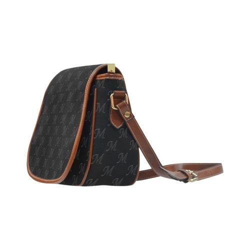 Mud-di Signature Black Saddle Bag/Large (Model 1649)