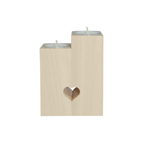 0adftklu)Horses Pop Art by Nico Bielow Wooden Candle Holder (Without Candle)