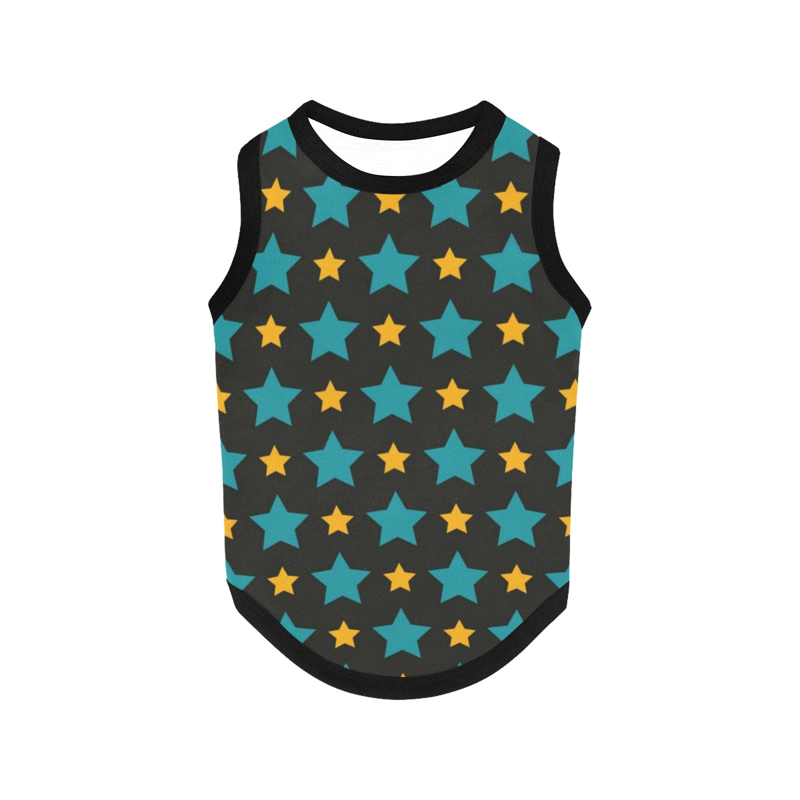 Stars All Over Print Pet Tank Top