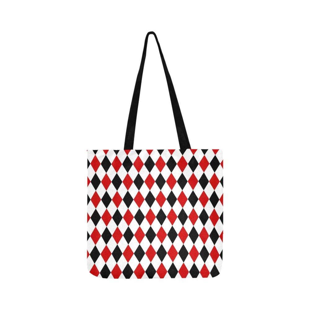DIAMOND PATTERN Reusable Shopping Bag Model 1660 (Two sides)
