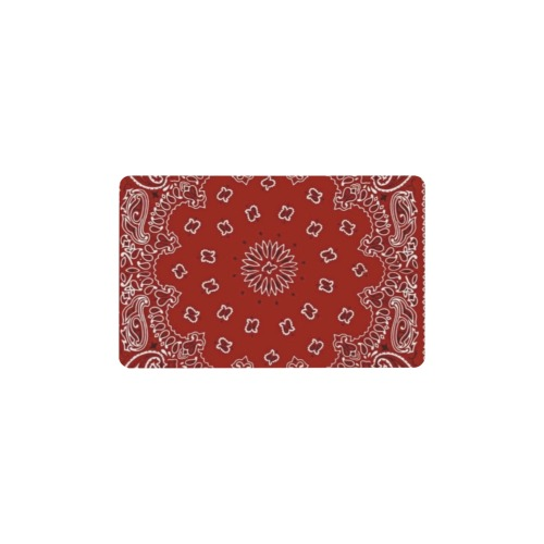 Insert Card / Bandanna Red Wallet Insert Card (Two Sides)