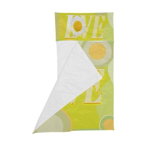 Yellow Love Sunflower Kids' Sleeping Bag