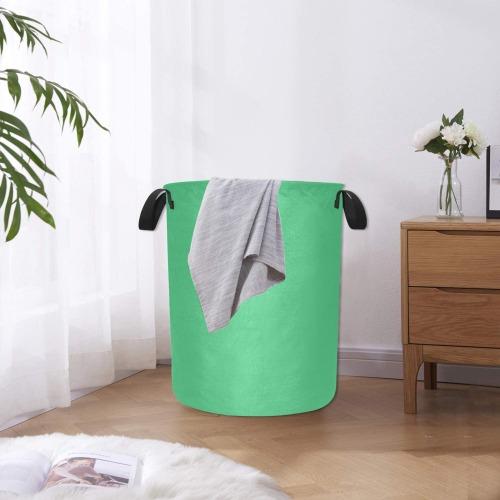 color medium sea green Laundry Bag (Large)