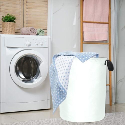 color mint cream Laundry Bag (Large)