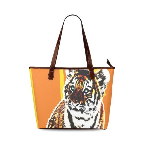TIGER TIGER-22A Shoulder Tote Bag (Model 1646)