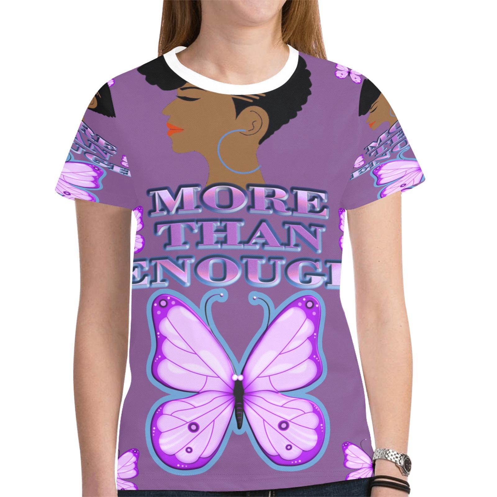 SpeakLoveToYourSelfAllOverTShirt New All Over Print T-shirt for Women (Model T45)