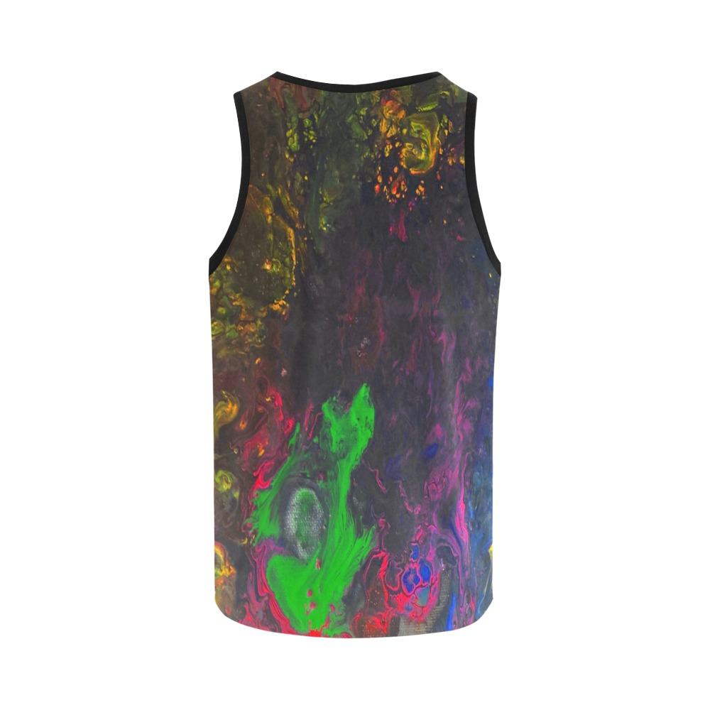 Deep in the Jungle All Over Print Tank Top for Women (Model T43)