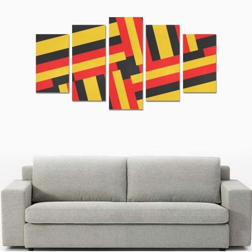 DESIGN 8009 Canvas Print Sets A (No Frame)