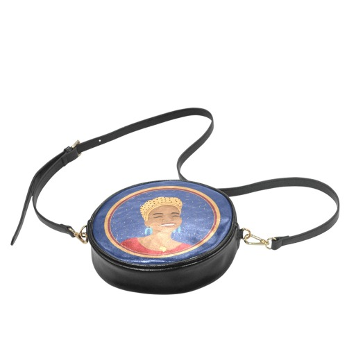 bolso redondo africana Round Sling Bag (Model 1647)
