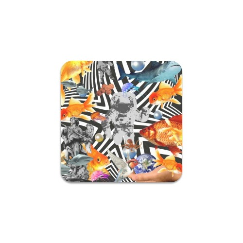 POINT OF ENTRY 2 Square Coaster