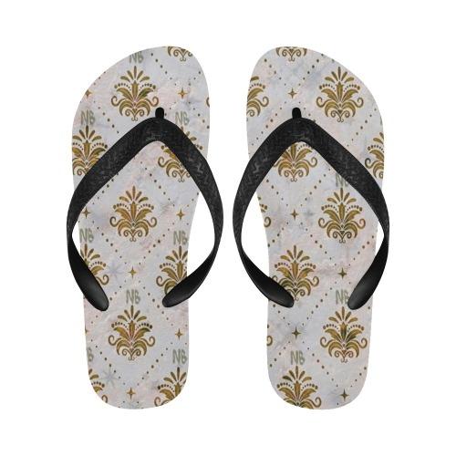 Royal Pattern by Nico Bielow Flip Flops for Men/Women (Model 040)