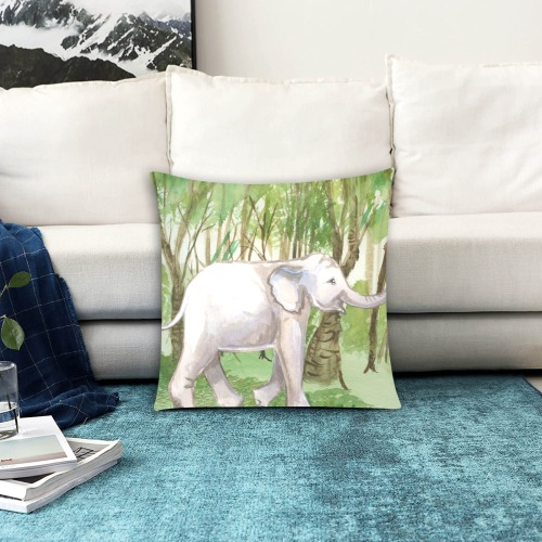 """Elephant6 Custom Zippered Pillow Cases 18""""x18"""" (Two Sides)"""