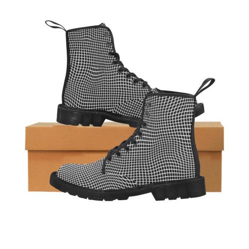 Optical Martin Boots for Men (Black) (Model 1203H)