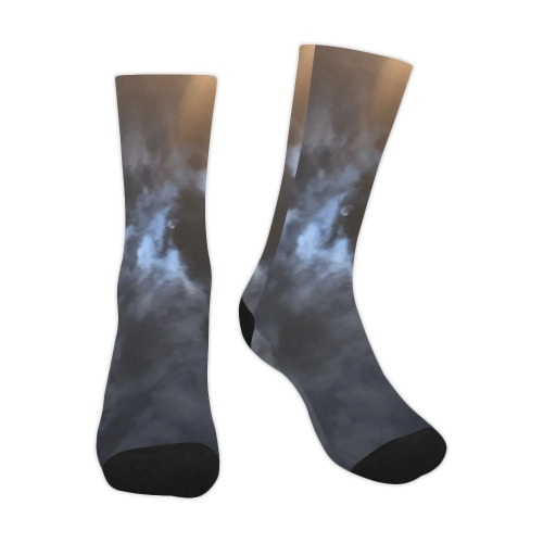 Mystic Moon Collection Trouser Socks