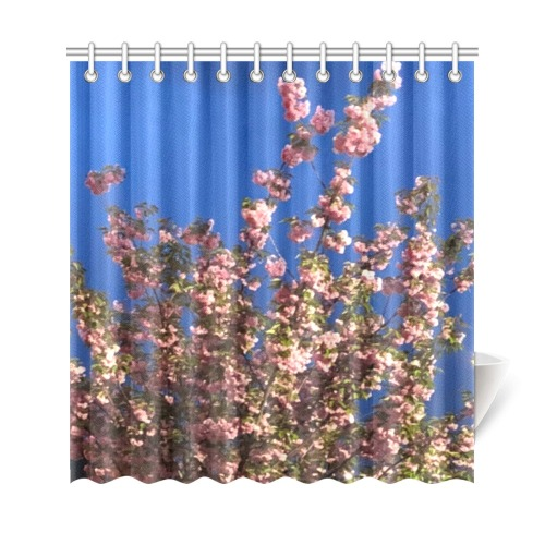 """Cherry Tree Collection Shower Curtain 69""""x72"""""""