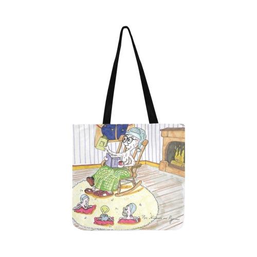 Nos histoires en pyjama Reusable Shopping Bag Model 1660 (Two sides)