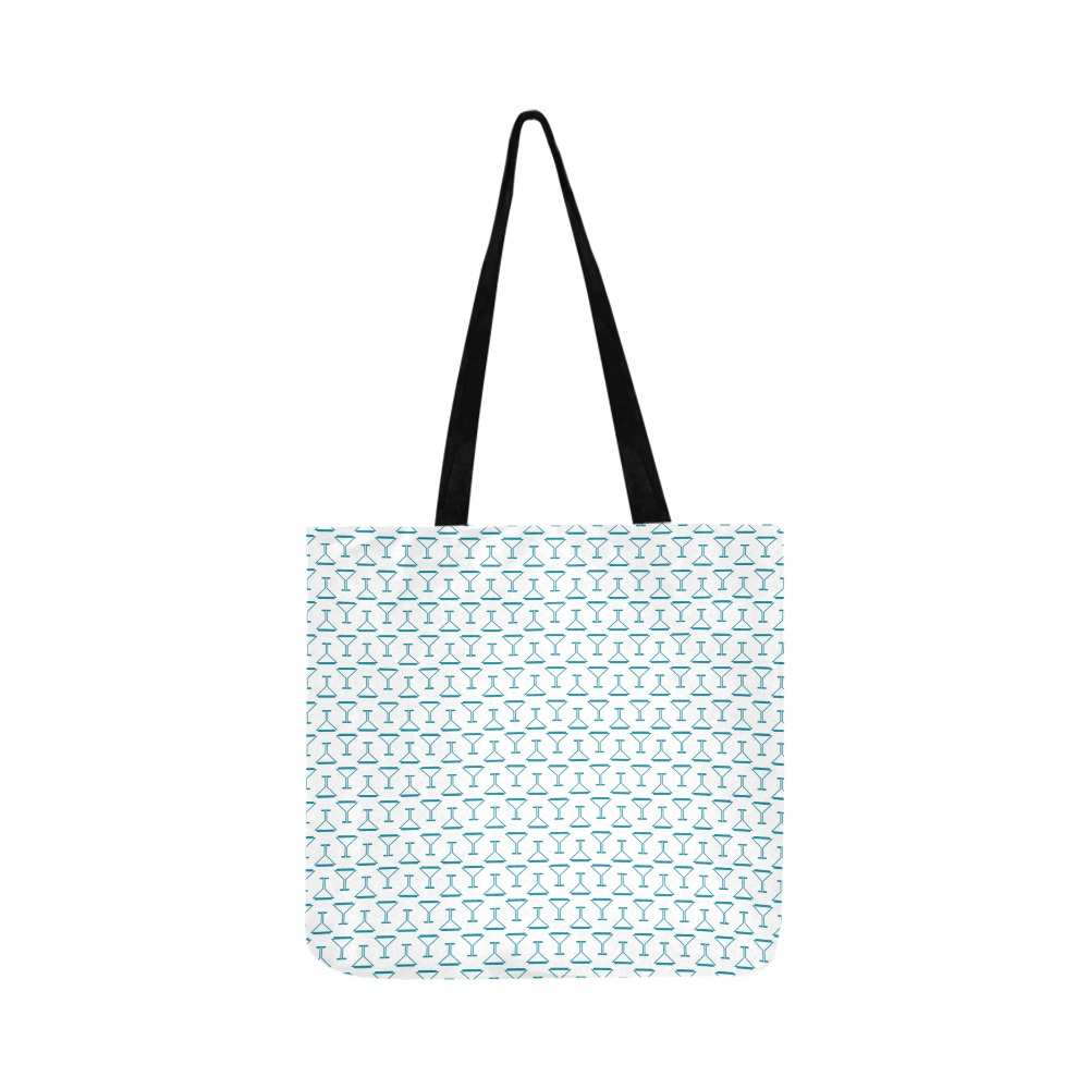 cocktail time Reusable Shopping Bag Model 1660 (Two sides)