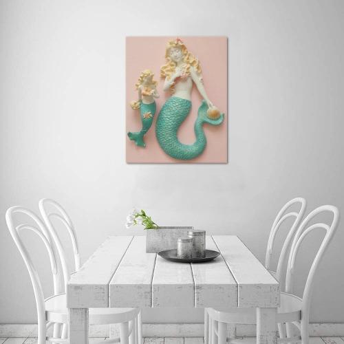 "Mermaids Frame Canvas Print 16""x20"""