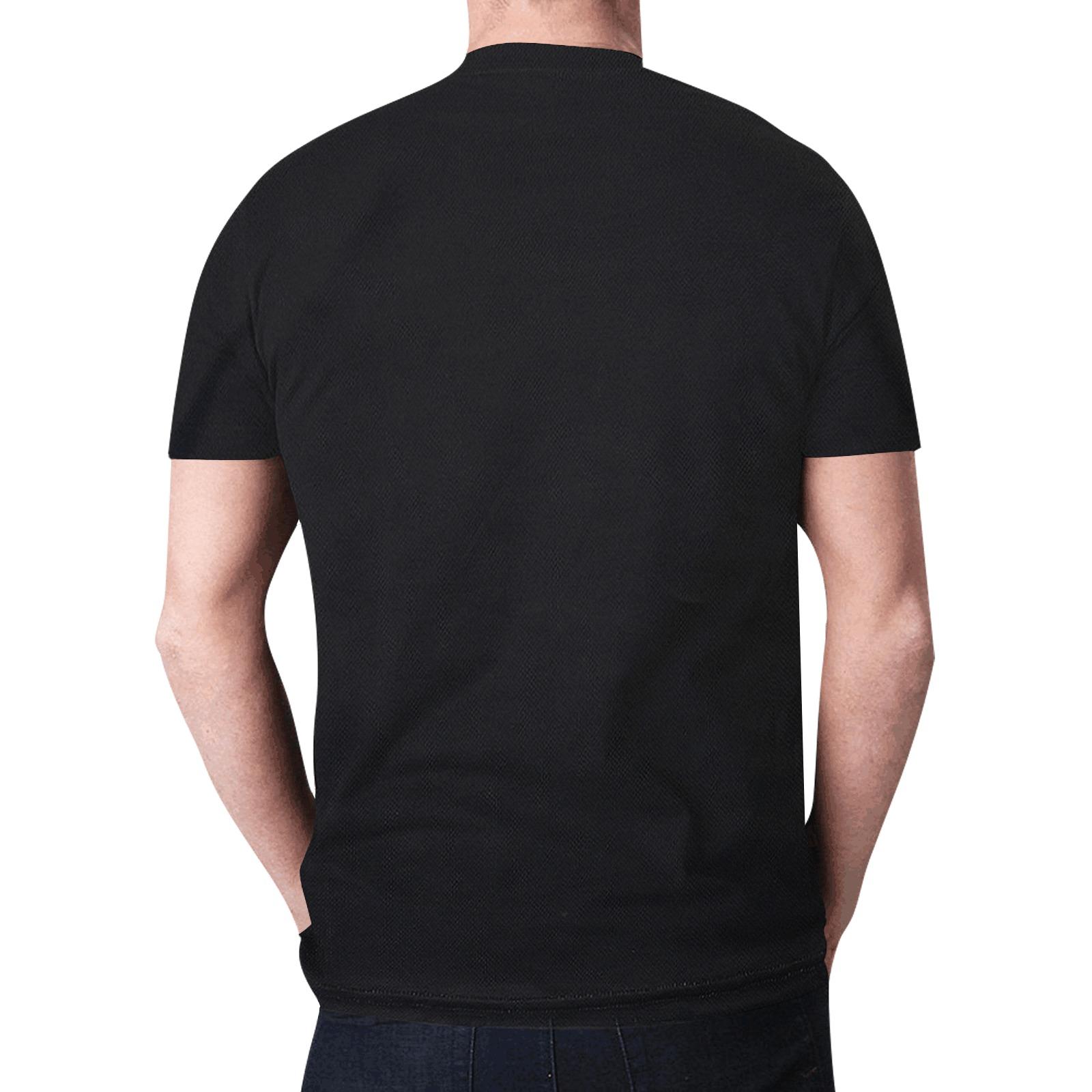 Critical Craze Skull Black Forest New All Over Print T-shirt for Men (Model T45)