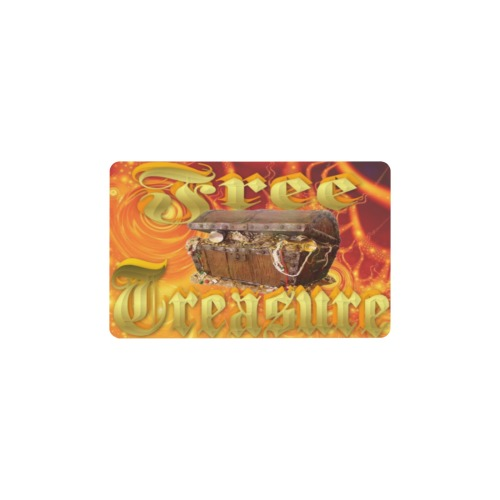 Free Treasure Wallet Insert Card (Two Sides)