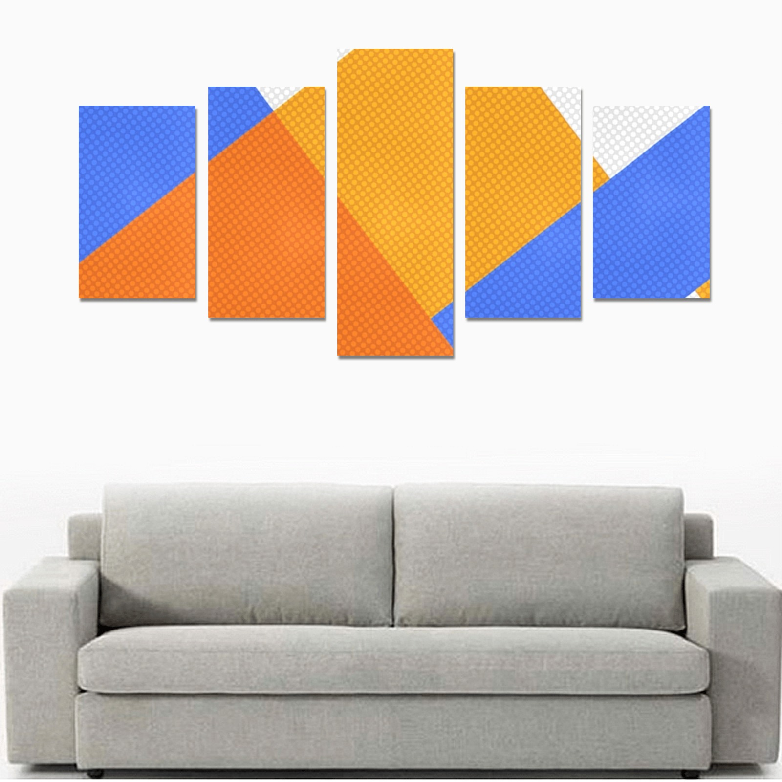 DESIGN 7575 Canvas Print Sets C (No Frame)