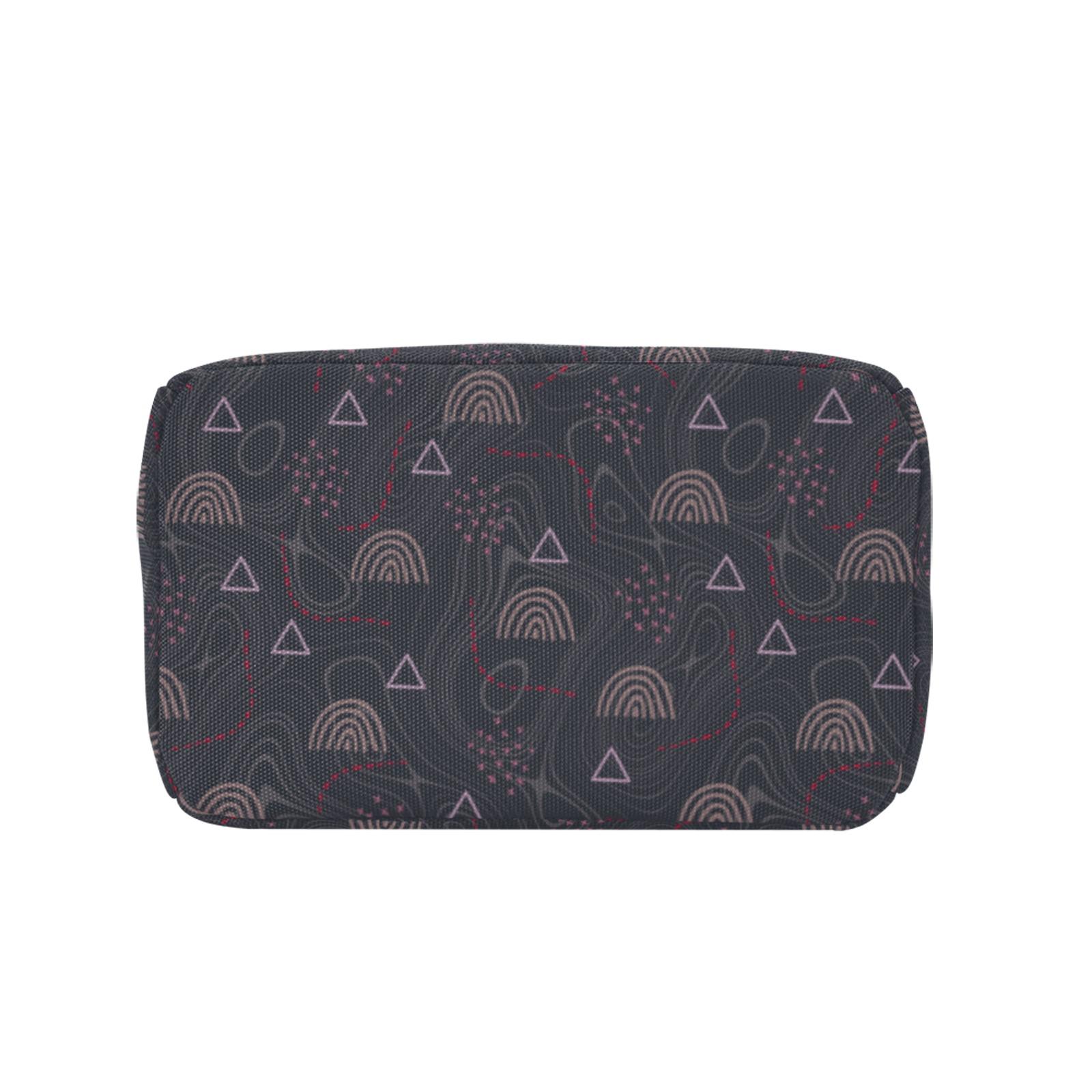 Rainbow, doodles Zipper Lunch Bag (Model 1720)