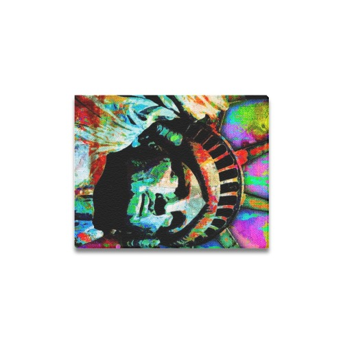 "STATUE OF LIBERTY 9 Canvas Print 11""x14"""