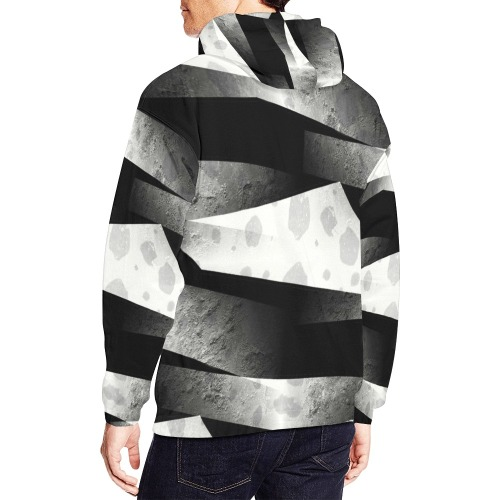 Leder Sign by Nico Bielow All Over Print Hoodie for Men (USA Size) (Model H13)