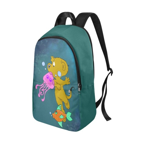 Ferald's Swim Fabric Backpack for Adult (Model 1659)