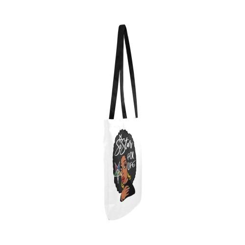 Sister 4 life bag Reusable Shopping Bag Model 1660 (Two sides)